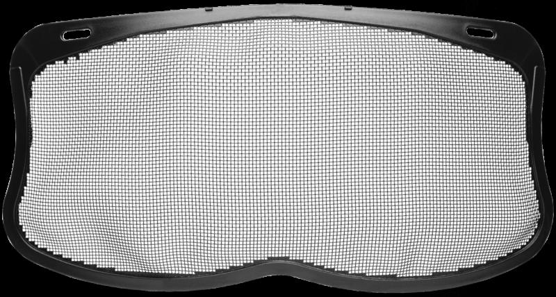 Visière grillagée en nylon